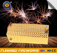 "ISO qualified supplier 1.5""198S Display Cake 3' dahlia display shells fireworks"