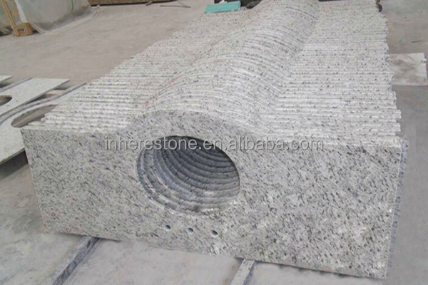 Cheap stone white rose white wall stone