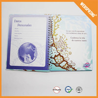 Free sample customized wedding guest book