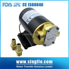 Singflo 14LPM oil transfer small 12 volt gear pump