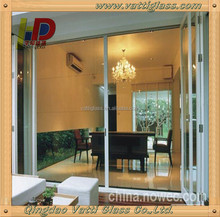 3mm-19mm interior frosted glass bathroom door,Commercial interior glass doors for bedroom