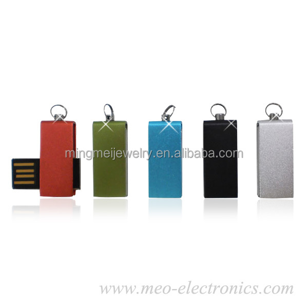 Factory wholesale price super slim usb flash drive, mini usb stick with full capacity 1G / 2G / 4G / 8G / 16G / 32G / 64G