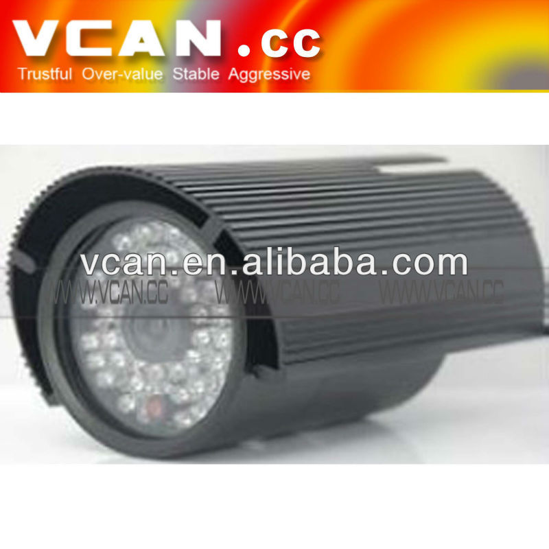 VCAN0474 Waterproof IR thermal camera car 30-40m distance in night 6mm