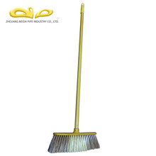 Competitive price high quality colorful cleaning plastic adjustable handle broom