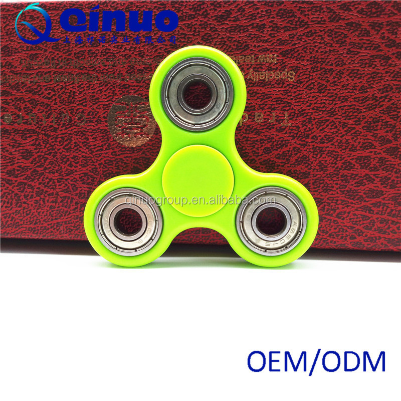 New 2017 Tri Spinner Fidget Toy Anxiety Relief spin time3-4min for Helps Reduce Stress and Racing Mind Due to ADD ADHD