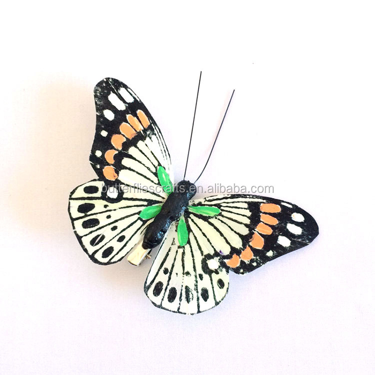 Fake butterfly for holiday decorations