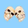 wholesale halloween mini skull heads decoration