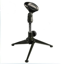 Aluminum Musical Instrument Decorative Microphone Electronic Mic Stand