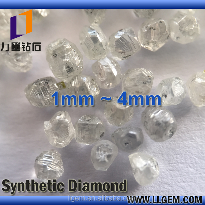 ZhengZhou Factory White Rough Synthetic Diamond/HPHT Diamond