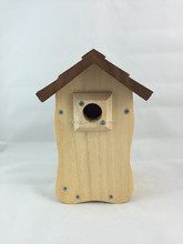 Wooden Bird House Handmade DIY bird cage