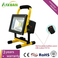 Hot selling Waterproof battery powered led work lights