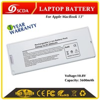"Factory made Best price Rechargeable Original new Laptop battery for Apple Macbook, 13"" A1185 10.8V 5600mAh"