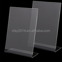 Custom L Shape Photo Frame Acrylic Display
