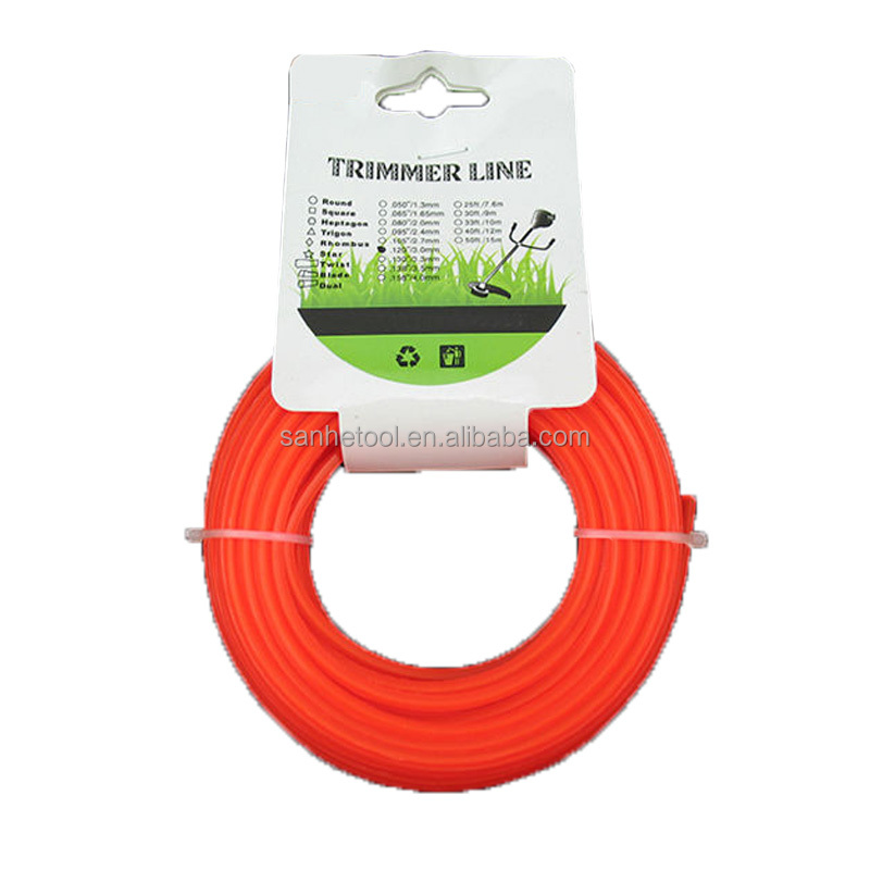 nylon grass trimmer line for various brush cutter grass trimmer