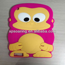 Hot sell Monkey design Soft case cover for iPad 3 iPad 4