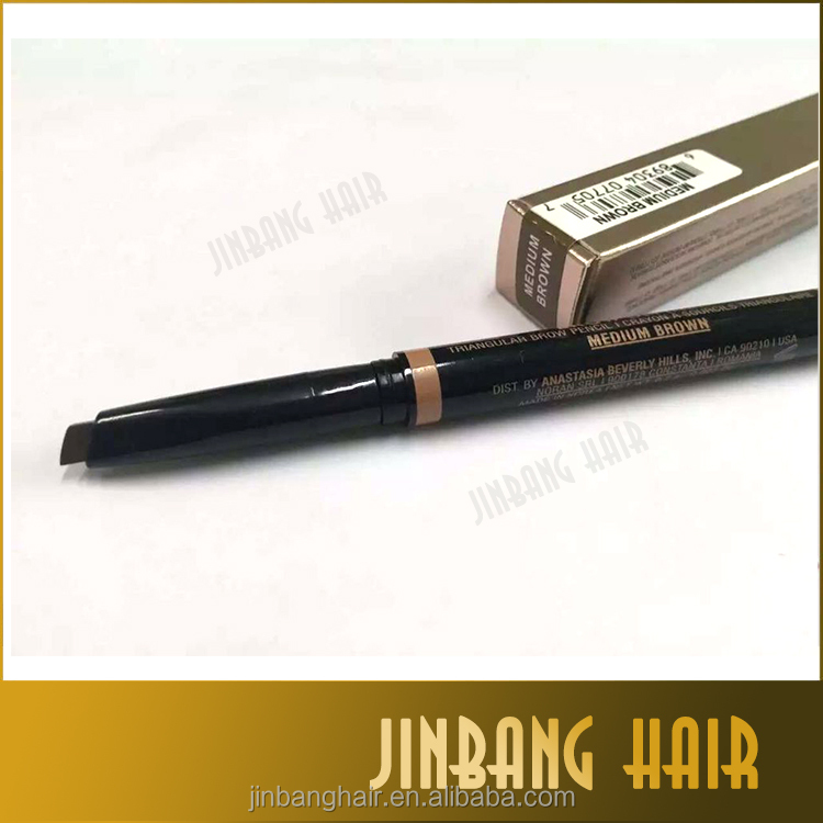 Korea Waterproof Eye Brow Definer pencil private label Eyebrow Automatic Pencil With Brush