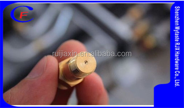 Customization high pressure gas burner nozzle,Brass gas burner nozzle for OEM