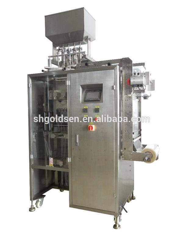 Most welcome honey/sauce/jam/vinegar/olive oil stick pack packing machine