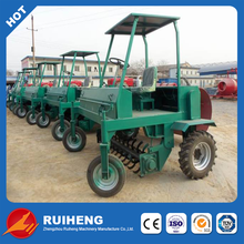 manure compost turner for making bio organic fertilizer