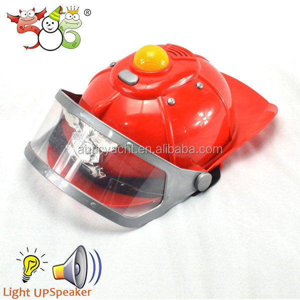 Plastic fireman hat firefighting supplies
