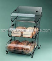 3 tier clear acrylic cake display stand