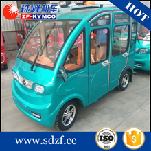 Factory direct price electric car tuk europe with solar panel