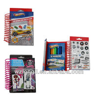 activity book/kids drawing color/sticker/marker