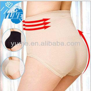 Hot Butt Booster Body Shaper Pants Black Nude