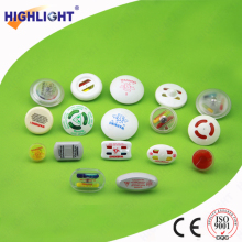 Highlight EAS RF AM clothes garment securiy anti-theft ink tag security hard tag for supermarket system