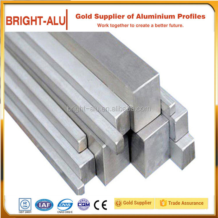 Aluminum extruted flat/square bars for industry