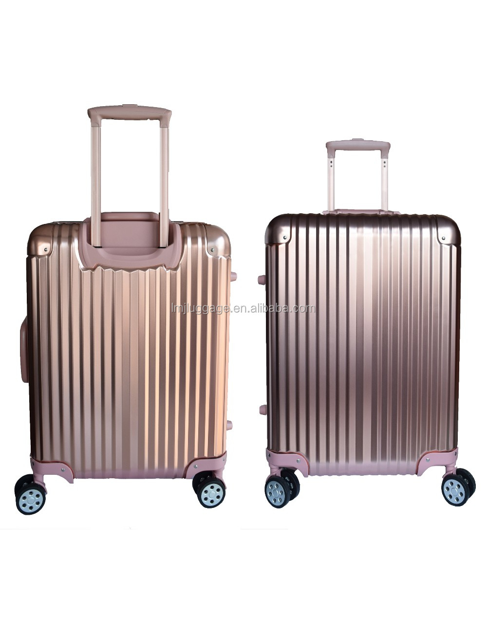2016 Sun Hope Newest Design Travel Aluminum Trolley luggage With GPS