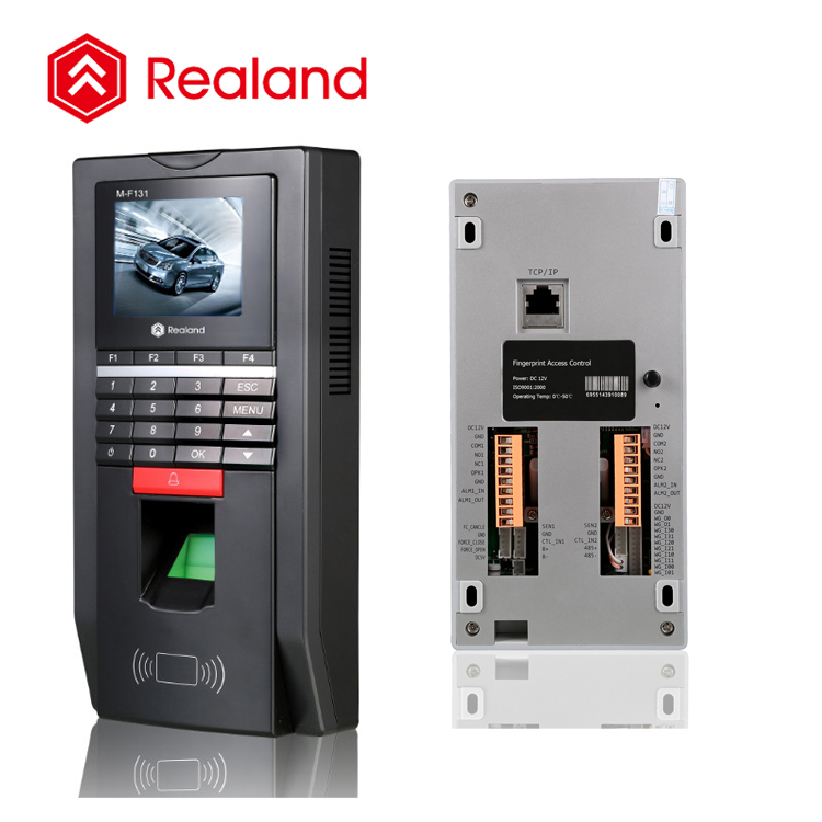 Realand M-F131 fingerprint system biometric access control security device