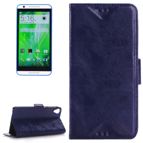 China supplier Leather Wallet flip cover case for htc desire 820