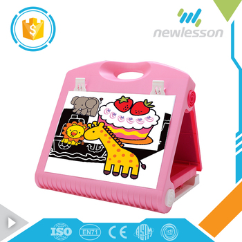 kids multifunctional educational toys self standing different types of drawing board for custom
