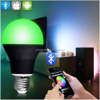 new hot design product,aluminum die casting led bulb 3w 5w 8w 12w 15w 24w 36w 48w e14 e27 b22 with Free APP