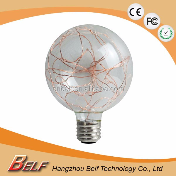 Fashion mode led colorful light and lighting lamp soft led filament bulb new style