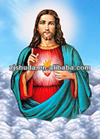 wholesale Jesus Christ 3D Lenticular Printing picture