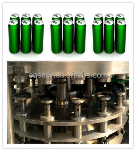 Pop Can Brewing Beer Canning Machine Can Beer Production Line Manufacturing Line