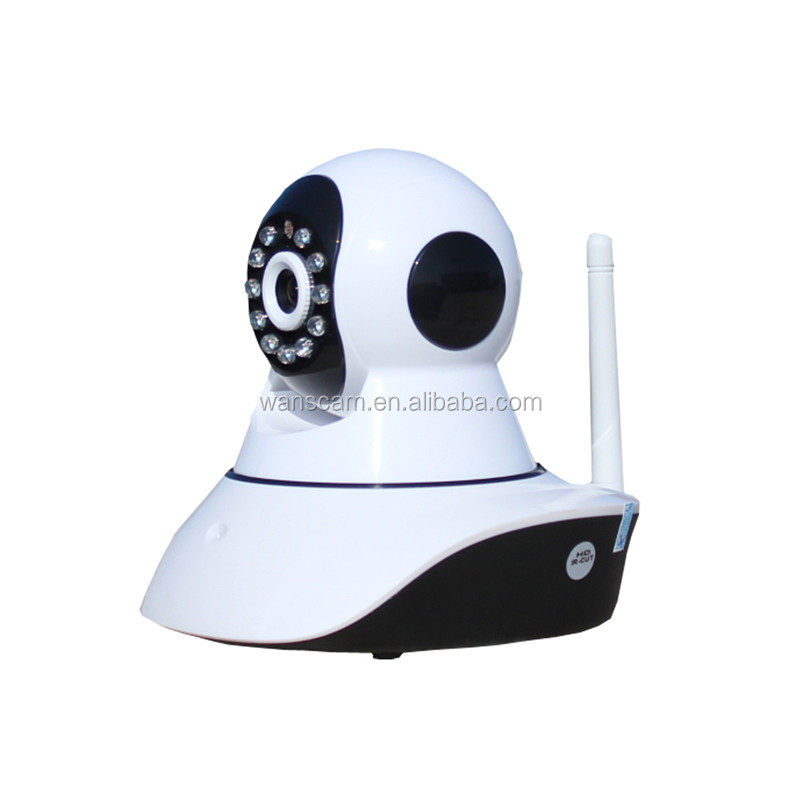 Home security wifi wireless P2P Pan tilt infrared detector alarm OEM special model ip camera