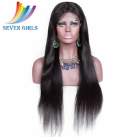 Sevengirls wholesale highest quality unprocessed virgin brazilian human hair full lace wigs