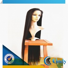Wholesale 100% virgin long black hair glueless lace front brazilian wigs in london