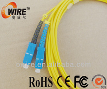 LC/FC/ST/SC dual core fiber optic cable