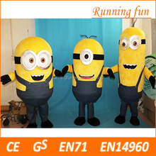 Hot selling CE minion mascot costume,used mascot costumes for sale
