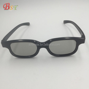 Promotion!! plastic polarized kids 3d glasses, movie 3d glasses