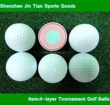 Customized durable for long-time use four layer tournament golf balls pro