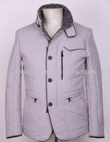 Wholesale Cheap White Quilted European Models Winter Coats Men