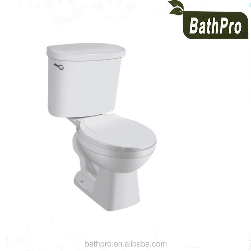 Ceramic Sanitary Ware floor mounted washdown ceramic two piece toilet