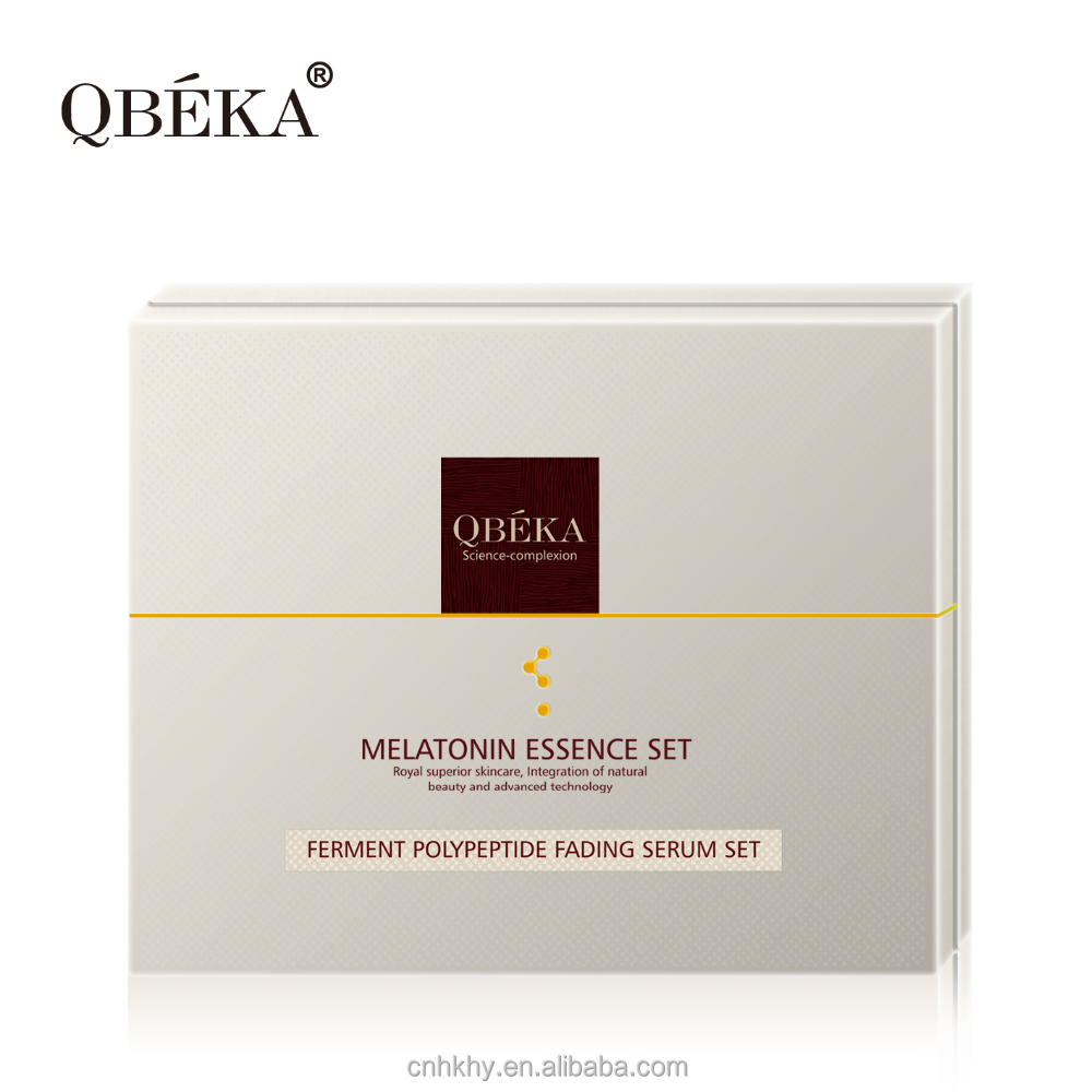 Multi-functional protection QBEKA ferment polypeptide fading serum sets skin care sets whitening facial kit
