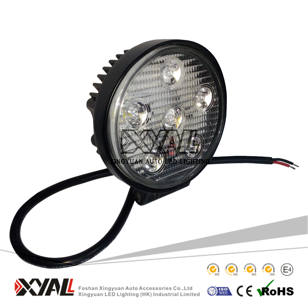 Cheap 10-30V 18W 4x4 Offroad ATV SUV Jeep spot flood beam tow truck Led driving worklight