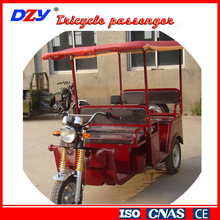 China semi-enclosed tricycle passenger electric tricycle car closed